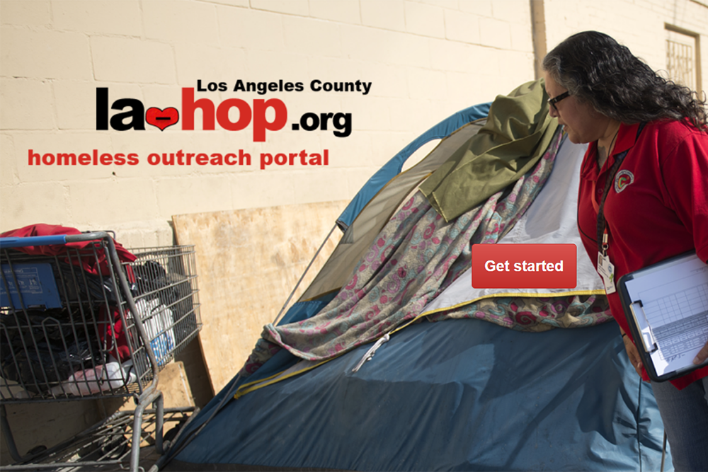 Los Angeles County Homeless Outreach Portal